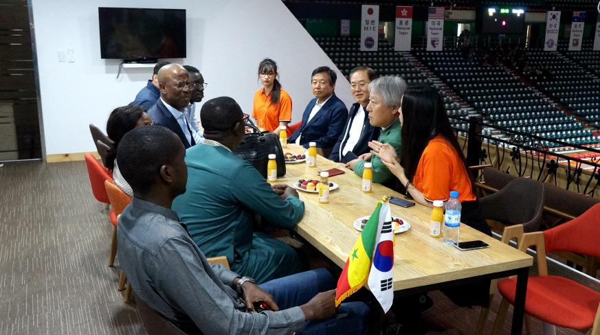 2018 부산컵 국제친선 핸드볼대회」에서 이미지2번째