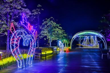 별이 빛나는 공원(부산시민공원 겨울빛축제) 이미지2번째