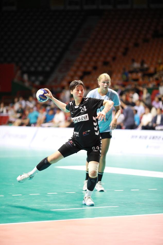 2019 부산컵 국제친선 여자핸드볼대회 한국 첫승 이미지2번째