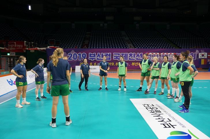 2019 부산컵 국제친선 여자핸드볼대회, 놓치기 아까운 이벤트경기 눈길 이미지1번째