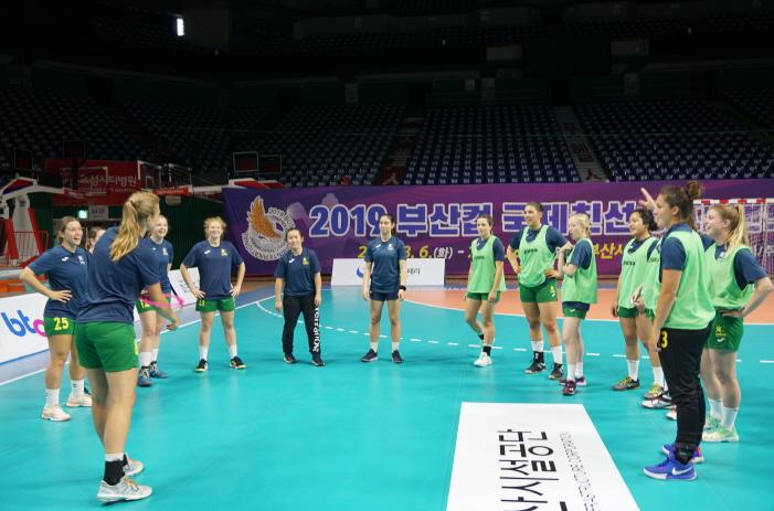 2019 부산컵 국제친선 여자핸드볼대회, 놓치기 아까운 이벤트경기 눈길 이미지2번째