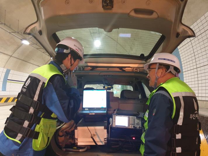 부산시 터널 19개소 라디오 수신환경 점검 실시 이미지1번째