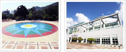 부산학생교육문화회관광장 사진