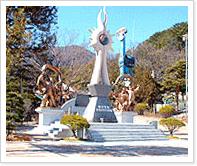 부산항일학생기념탑 사진