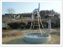 낙타-시간의 지평에 서다 - 정욱장(2011년) 조각품 사진