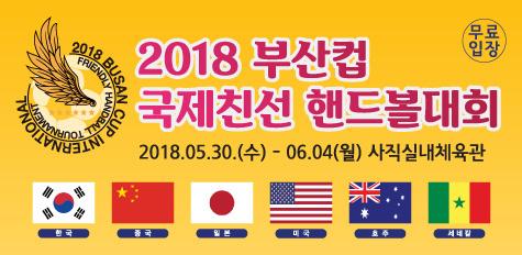 2018 부산컵 국제친선 핸드볼대회