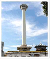 부산타워 전경 사진