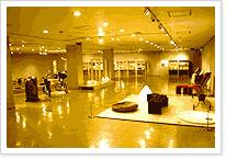 용두산미술전시관 내부 사진